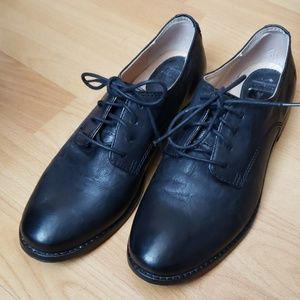FRYE anna oxford leather shoes